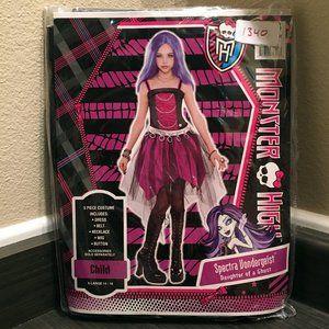 Spectra Vondergeist GIRLS Monster High 5pc Costume
